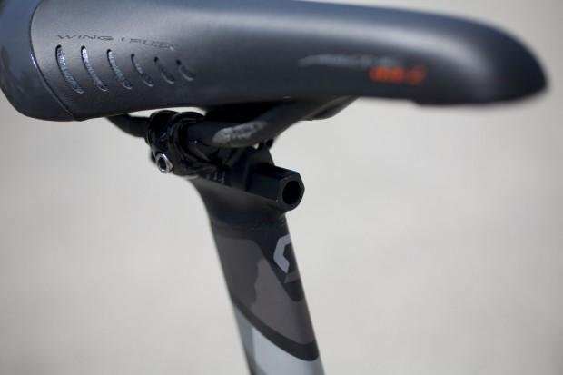 Велосипед Scott Plasma Premium седло Fizik