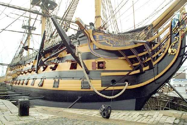 Парусный корабль Victory
