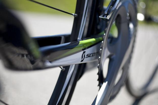 велосипеда SCOTT Plasma Premium задняя вилка
