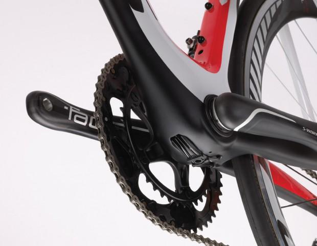 Велосипед Specialized McLaren Venge проводка тросов