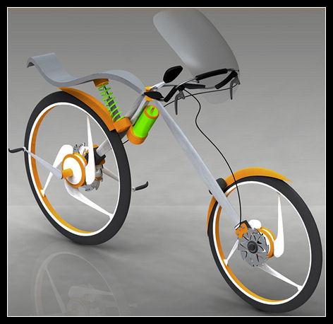 Концептуальный велосипед от Вивека Сасиндрана