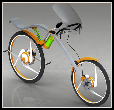 bike concept Концептуальный велосипед