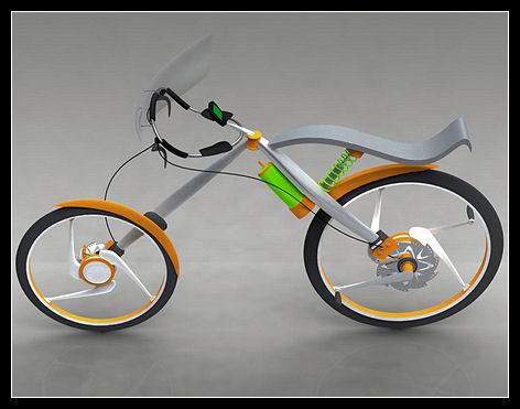 bike concept необычный велосипед