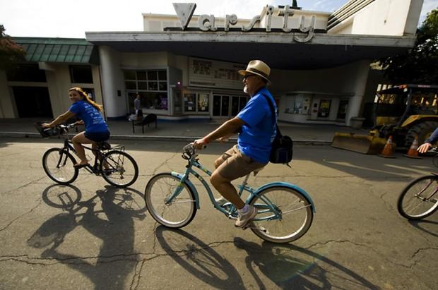 bike-record проехались на велосипедах