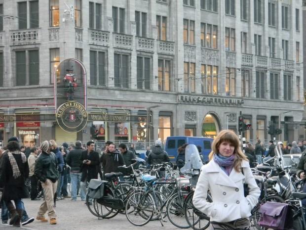 Велосипедные города мира — Амстердам bike sity