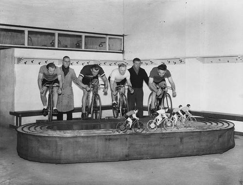 Тренировка на велосипеде
