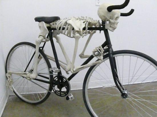 велосипед Скелет