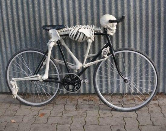 Скелетон велосипед
