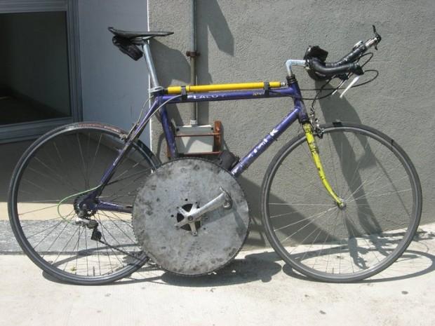 Супер  велосипед, передняя звездочка
