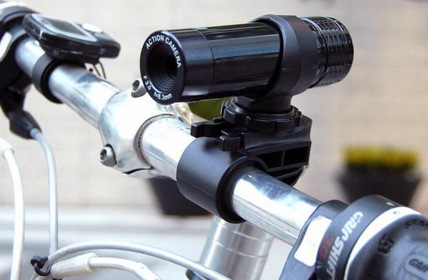 Велосипедная камера Thanko USB Action Camera