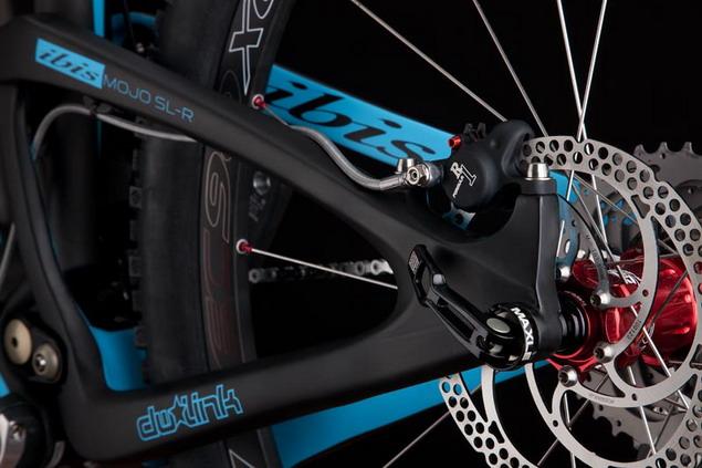 велосипед Ibis Mojo SL-R — вид сзади