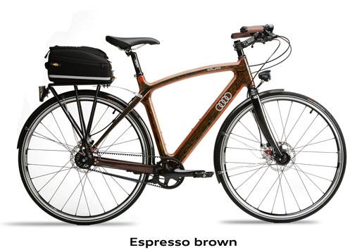 Велосипед Audi — duo City
