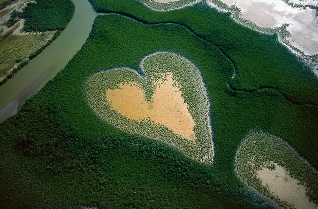 Новой Каледония. Heart in Voh