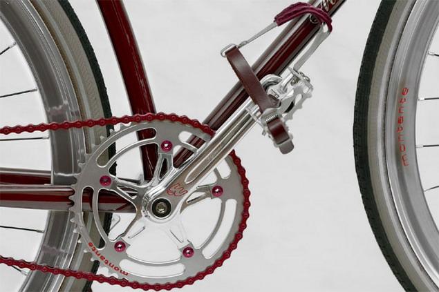 Велосипед от Mаserati система