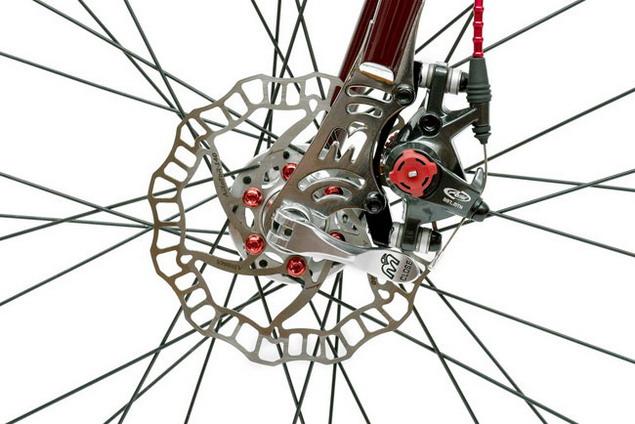 Велосипед от Mаserati тормоза