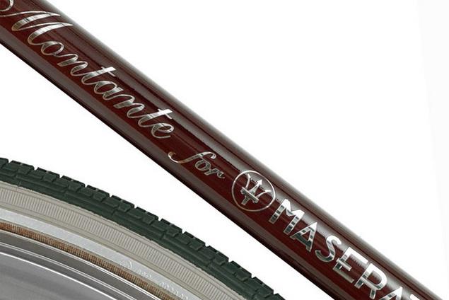 Велосипед от Mаserati рама