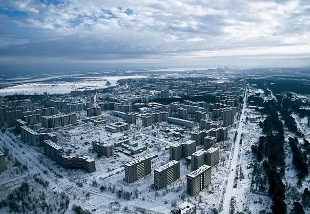 Украина. Город Припять. Окрестности Чернобыльской АЭС