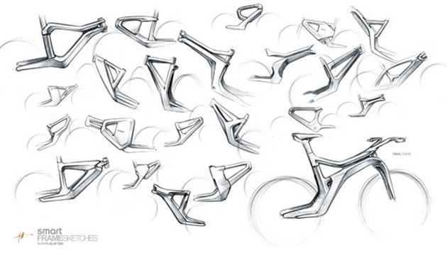 электровелосипед — SMART Ebike рисунки