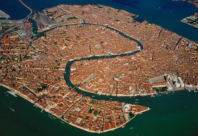 Венеция. Вид сверху