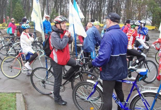 Винница велопробег здоровья разговор