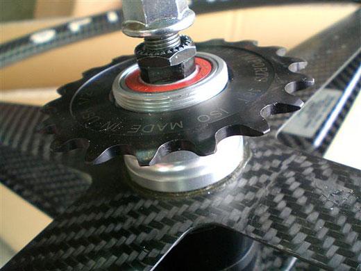 Велосипед kalavinka карбоновое колесо