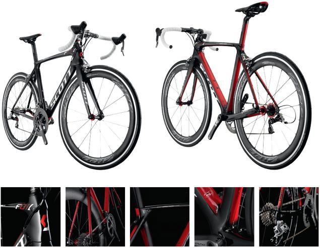 Aero  Велосипед — Scott F01L