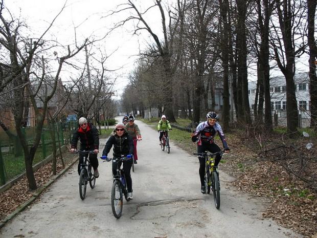 Винницкие велосипедисты