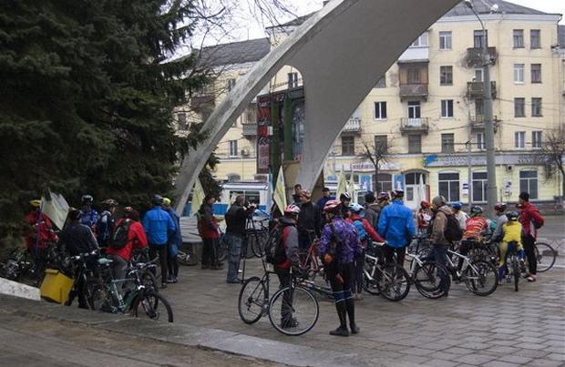 Винница велопробег здоровья — собираемся