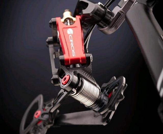 Гидравлическая система переключения передач велосипеда Across