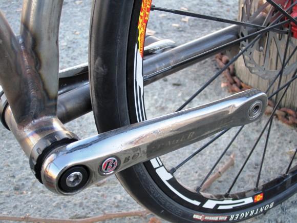 Скоростной шоссейный велосипед Gravity
