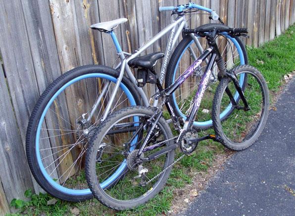 """Велосипеды с 26'' колесами и с 36"""" колесами"""