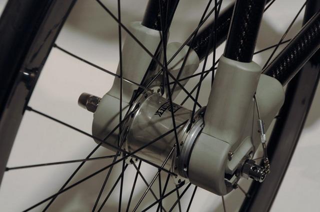 концептуальный велосипед Alpha