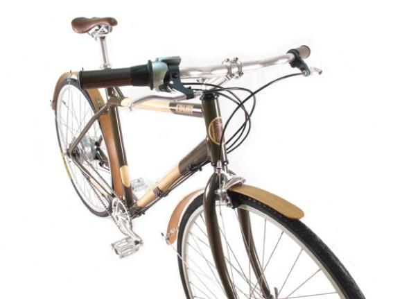 Велосипед Edwin Town Bike 2011  вид сверху