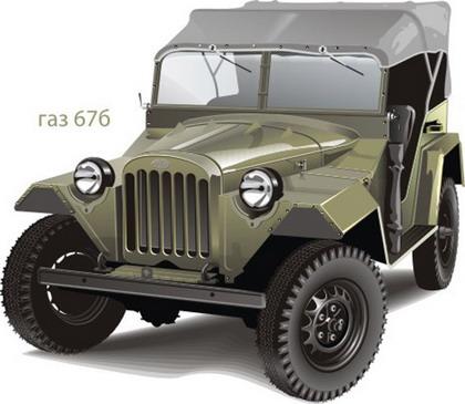 Автомобиль ГАЗ 67б