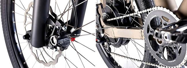Электровелосипед Grace Pro Race детали