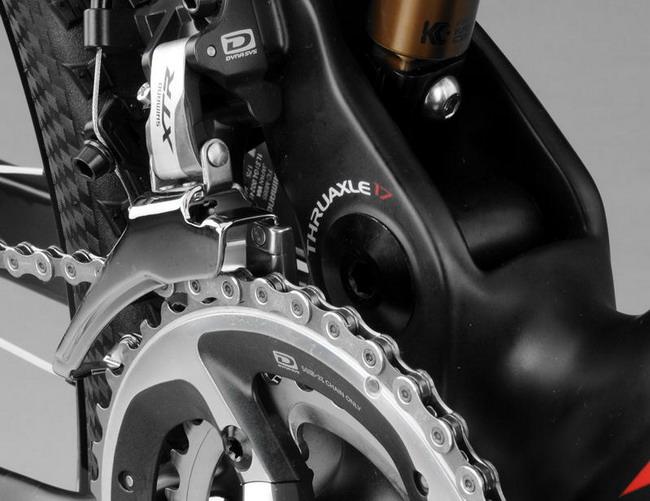 Велосипед от BH с технологией Split Pivot и карбоновой рамой Lynx