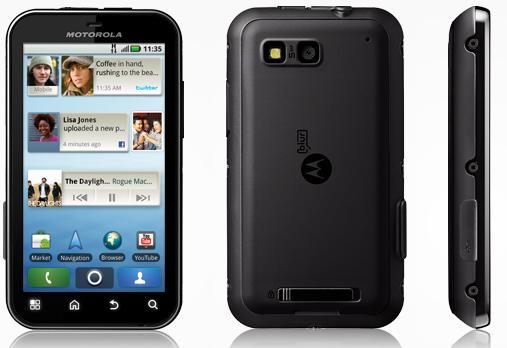 Велосипедный телефон Motorola Defy MB525