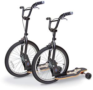 Sbyke – гибрид велосипеда, самоката и скейта