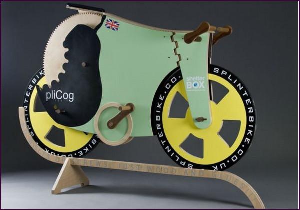 Деревянный Велосипед SplinterBike
