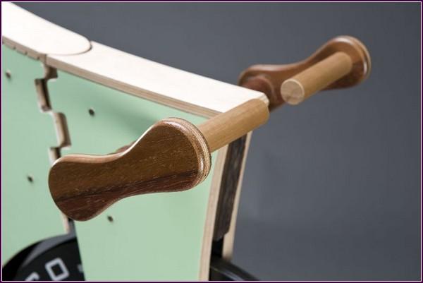 Деревянный Велосипед SplinterBike руль