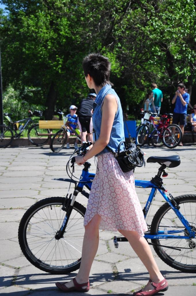 Алиса на вело дне 2011