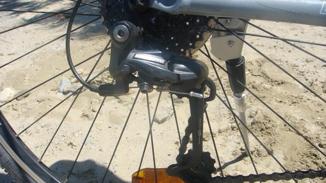 Велосипед Bergamont Fluxus 2010 задний переключатель