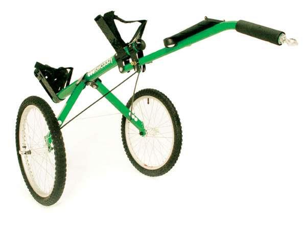 Двухколесный прицеп  Bicycle Golf Caddy