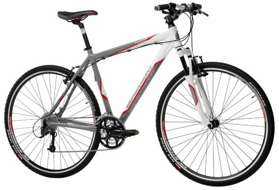 Велосипед Fluxus Herren Grey White