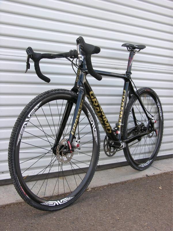 шоссейный велосипед с дисковыми тормозами Grammo Disc Brake Carbon Cyclocross Bike