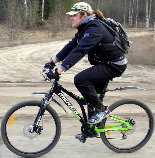 Мерида – велосипед Руслана