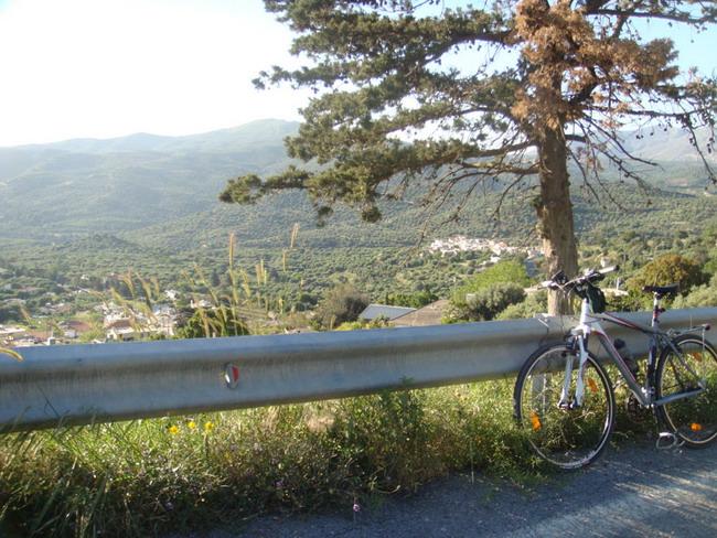 Велосипедный остров крит