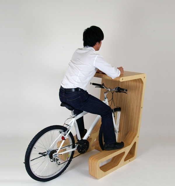Велосипедный стол