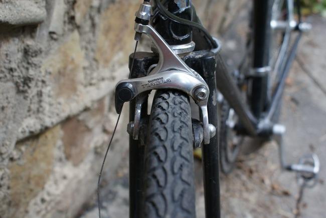 крокодил – мой велосипед – передний тормоз