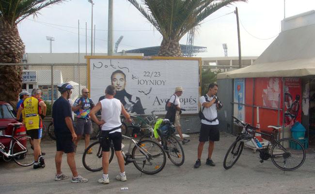 В сорока километрах от  Ираклио. Велосипедный туризм по острову Крит